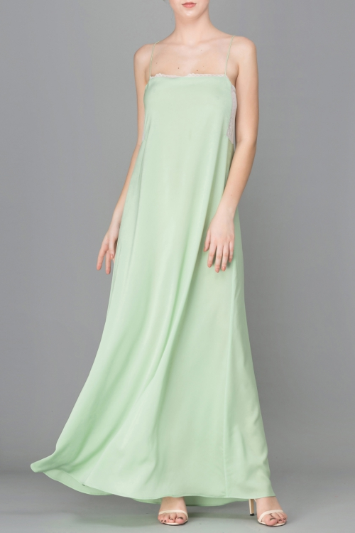 YOUNG GRASS CAMI MAXI DRESS