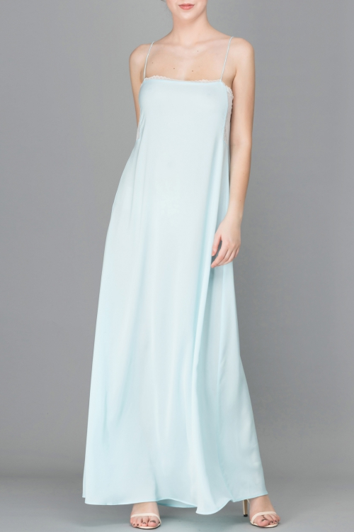 PASTEL BLUE CAMI MAXI DRESS